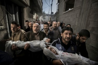 Foto Vincitrice del World Press Photo Award di Paul Hansen