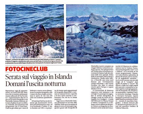 18/02/2013 - Gazzetta di Mantova