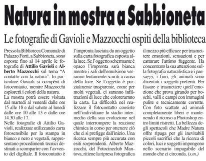 Voce di Mantova del 17/03/2013