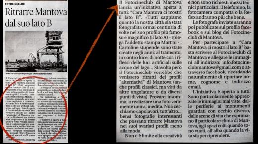 Articolo Mantova Lato B