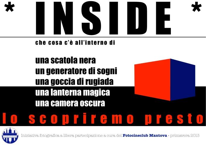 INSIDE la nuova iniziativa fotografica del Fotocineclub di Mantova aperta a tutti