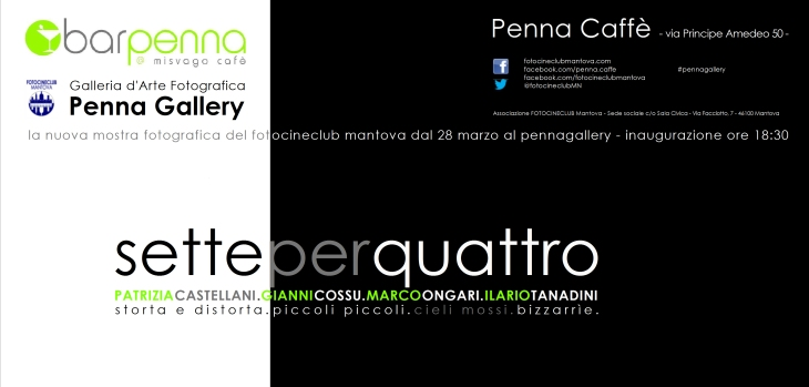 FLYER 3° GIRONE PENNAGALLERY