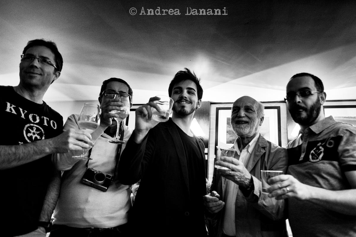 #pennagallery 4: reportage in immagini dell'inaugurazione al Penna Caffè di #Mantova (foto © AndreaDanani)